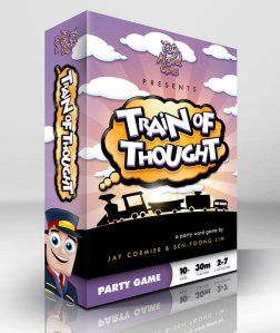 Train of Thought box art