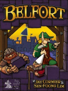 Belfort board game box front